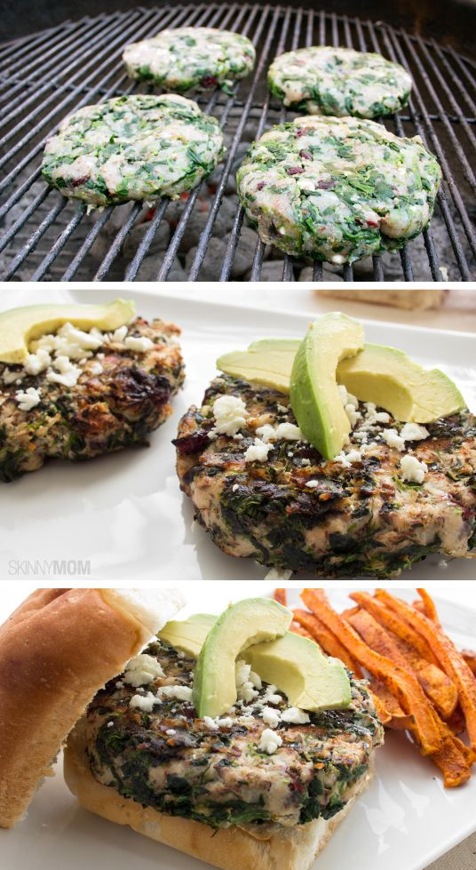 ... Turkey Burgers | Turkey burger recipes, Spinach and Turkey burgers