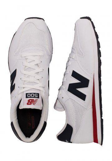 New Balance - GM500 D SWB White - Shoes | Sneakers men fashion ...