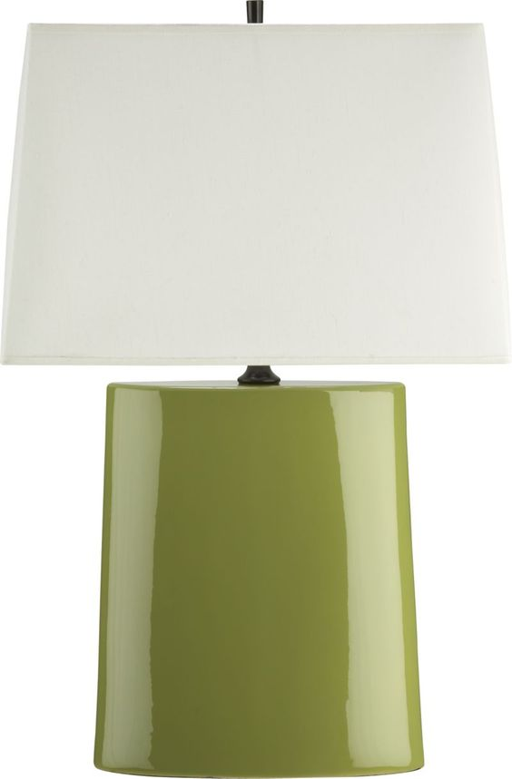 Boka Lime Table Lamp – Crate and Barrel Desk Lamp