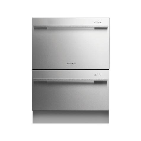 Fisher Paykel DD60DDFHX7 Double Drawer Dishwasher (Brushed Steel)