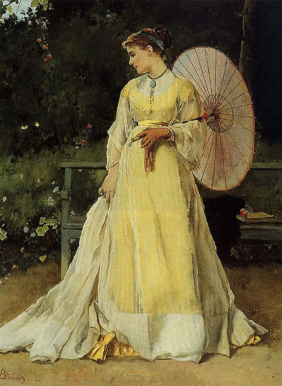 Alfred Stevens - In the Country