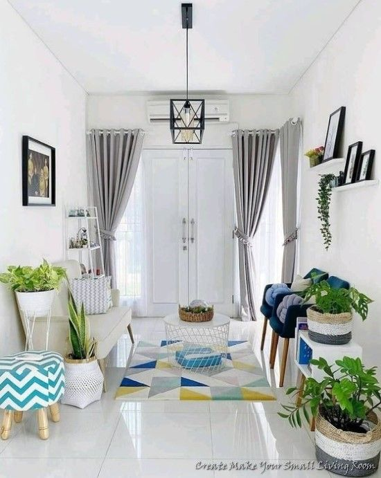 How To Create Make Your Small Living Room Bacayux In 2021 Decor Home Living Room Interior Design Living Room Small Home Room Design