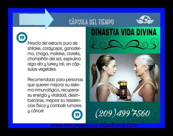 Capsula del tiempo Vida divina  Www.normagarcia.vidadivina.com