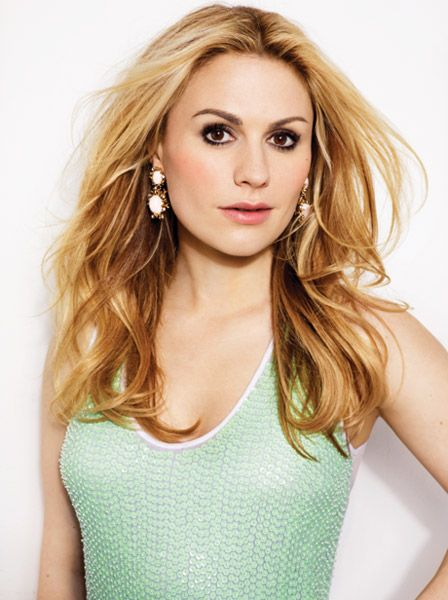 Summer 2012 cover shoot with Anna Paquin photographed by James White