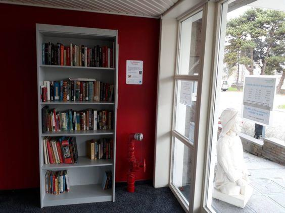 Zwerfbibliotheek Nieuwpoort
