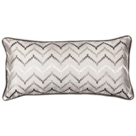 The Silver Shadow Pillow | Overstock.com Shopping - The Best Deals on Accent Pieces