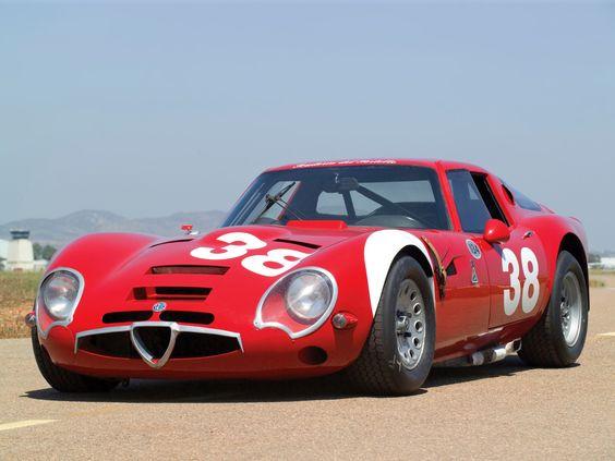 motoriginal: 1965 Alfa Romeo TZ2 105