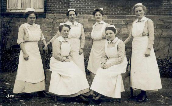group portrait nurses