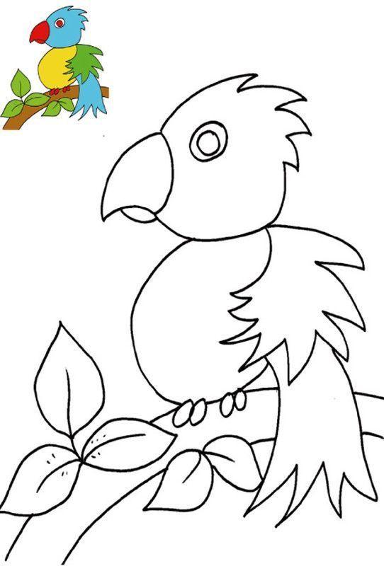 Coloriage Avec Modele Pour Les Enfants De 2 A 4 Ans A La Tres Tres Petite Maternelle Coloriage Coloriage 3 Ans Modele Peinture