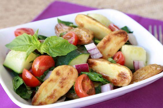 Colorful Potato'zanella Salad Recipe