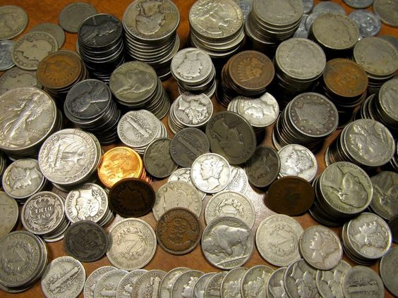 #coins COIN COLLECTION~SILVER~50+ YEARS~GOLD~MORE~ESTATE please retweet