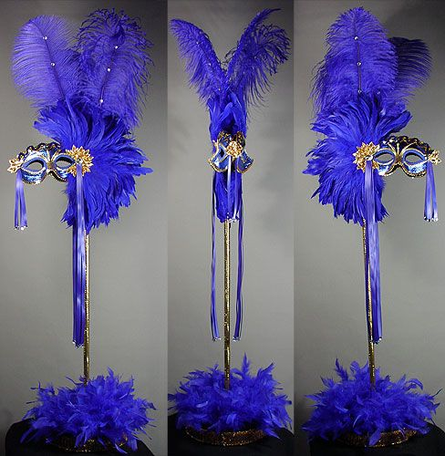 masquerade centerpieces | single sided centerpieces $ 175 00 double sided centerpieces $ 225 00 ...