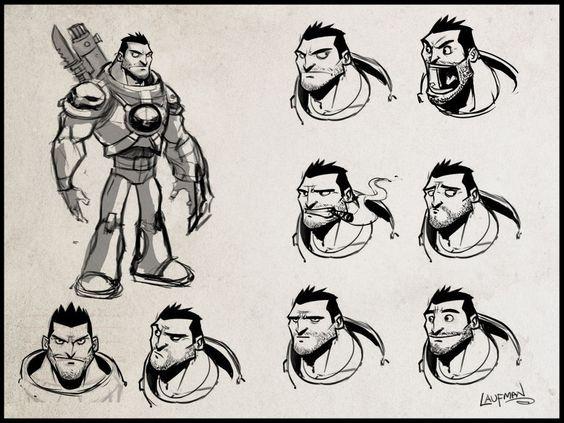 Character Design Masters : Derek laufman masters of anatomy character design