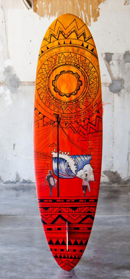 limitierte Editionen Surf  und Skateboards