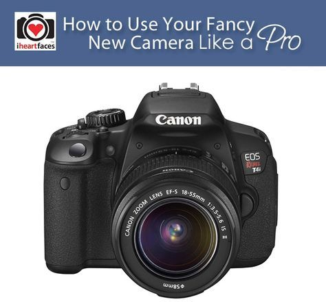 How To Use a DSLR Camera Like A Pro - Great tips and over 50 links to FREE photography tutorials