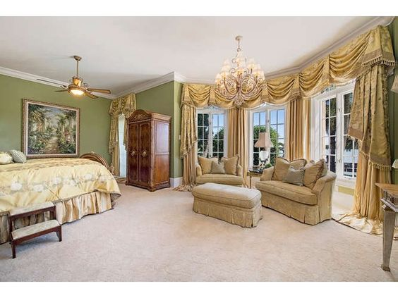 gold master bedrooms swag traditional masters naples bedrooms curtains