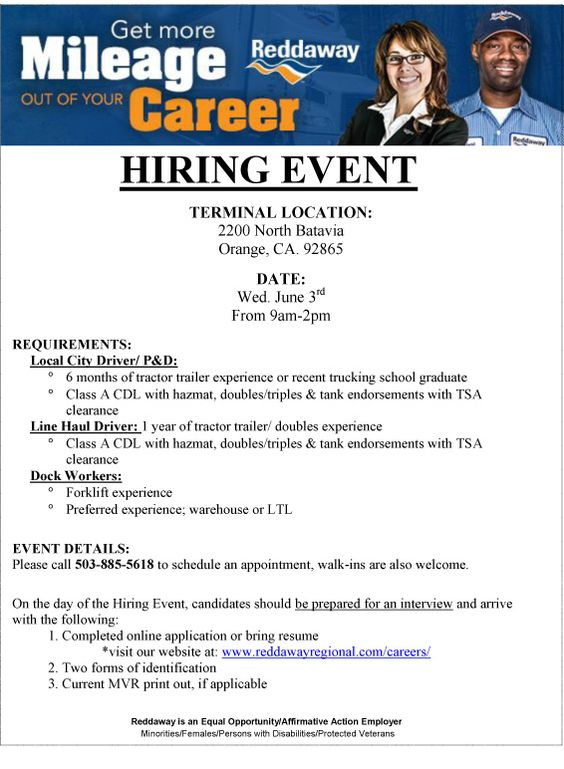 Military-Civilian Hot Jobs, Events, and Helpful Information for - trailer driver resume