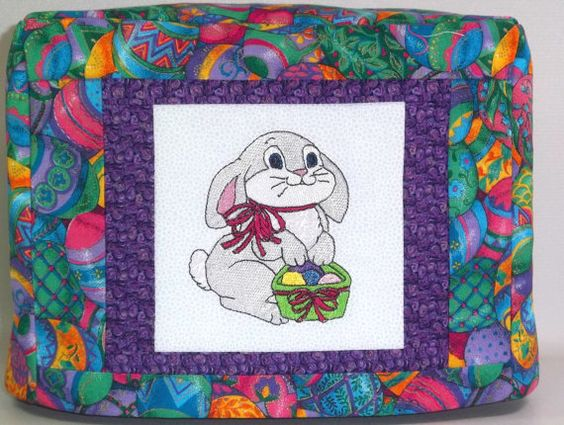 Easter Toaster Cover  2 Slice Toaster Cover by PatsysPatchwork, $18.00