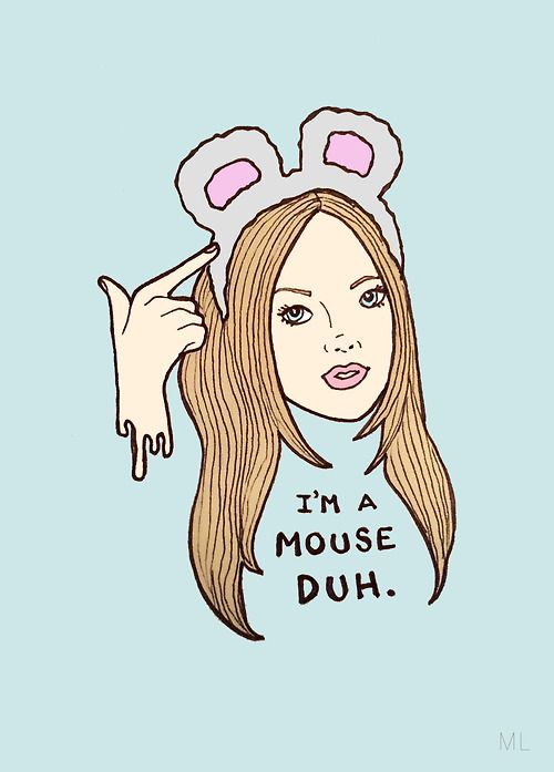 Take it from Karen and be a mouse this Halloween! #hautehalloween