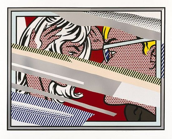 Roy Lichtenstein...Reflecting on ART - Meanwhile... in Art - Learn about Art…