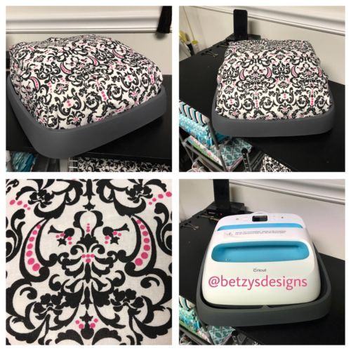 Embroidered Cover For The Cricut Brightpad B W Chevron Cricut Cricut Brightpad Cover