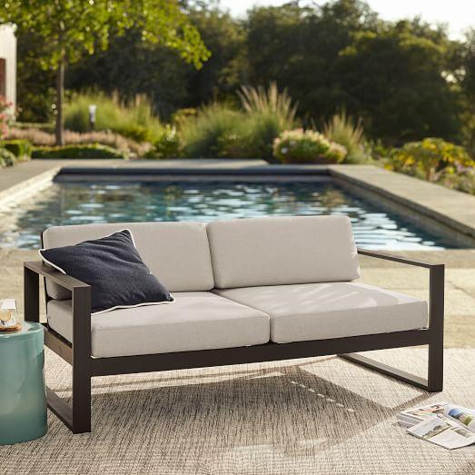 Portside Aluminum Outdoor Lounge Chair Outdoor Sofa Best