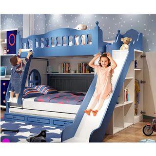 موديلات غرف الأطفال 2021 بارقى تصميمات غرف نوم الاطفال سرير دورين للأطفال Tiny House Interior Design Loft Bed Home Interior Design