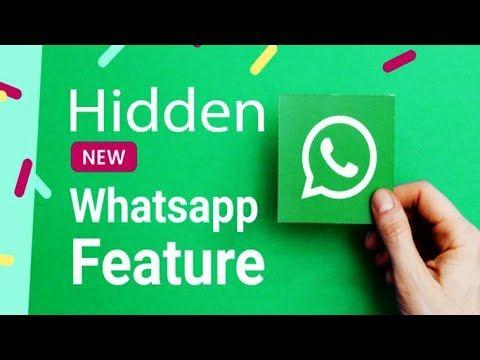 New Whatsapp Super Secret Trick Latest Whatsapp Hidden Features