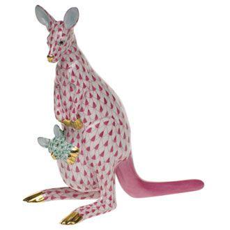 kangaroo & baby
