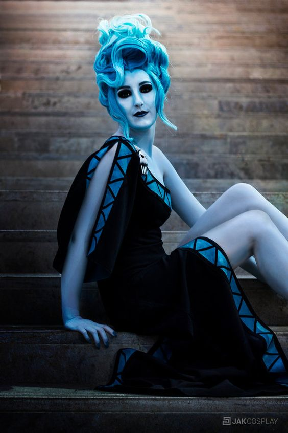 Hades [Female Version] Sakimichan by Jacklinn.deviantart.com on @DeviantArt