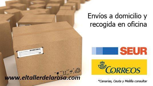 Envíos rápidos y económicos en todos las compras de artículos de artesanía en El Taller de la Rosa http://www.eltallerdelarosa.com/content/13-envios-y-devoluciones