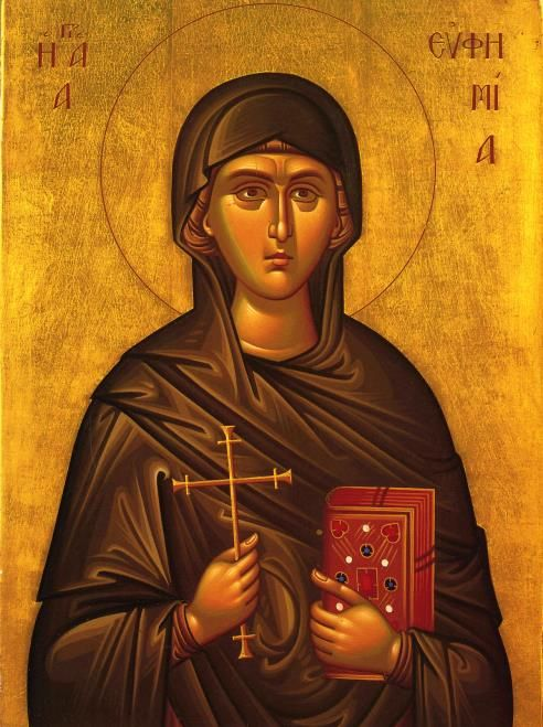 The Holy Glorious Great-Martyr Euphemia