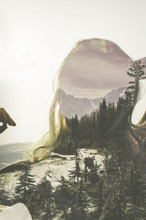 double exposure photography | landscape | beautiful | fine art photography