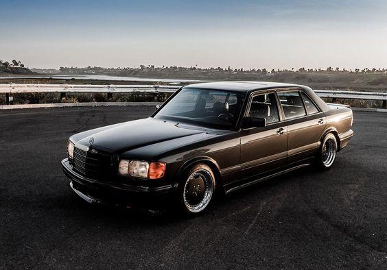 Роскошь из 80-х Mercedes-Benz 560 SEL 6.0 AMG W126