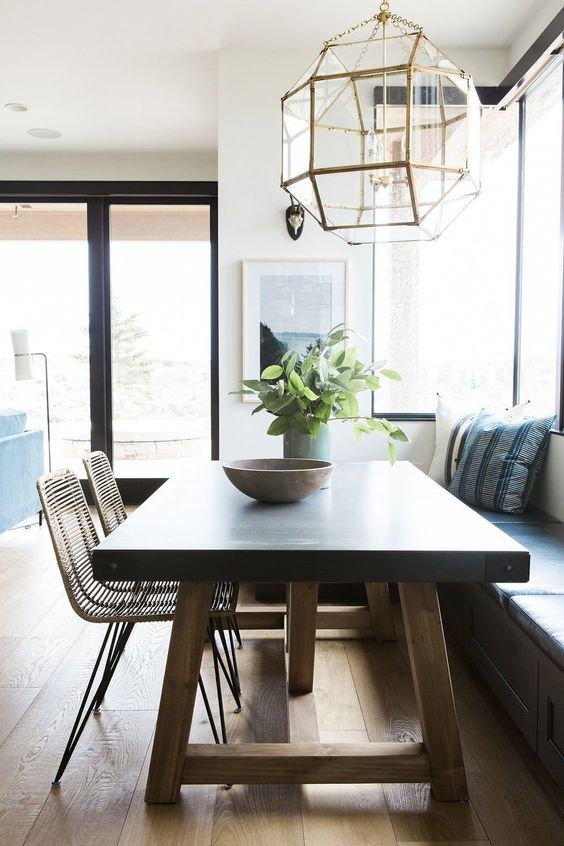 Modern Eat In Kitchens Ideas And Favorites Dining Room Decor