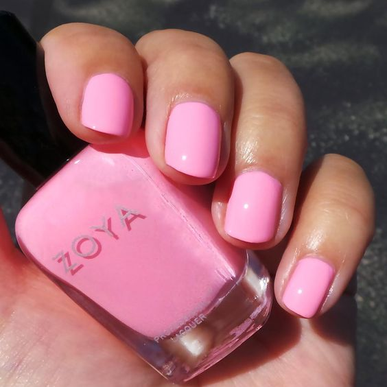 Bubble Gum Nail Art: Bubble Gum Pink, For The Win! Make Your Nails Pop This