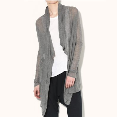 HELMUT by Helmut Lang Voltage Rib Cardigan