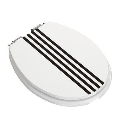 WC Sitz Stripes