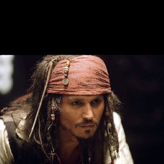 CAPTAIN Jack Sparrow- Pirates of the Caribbean: Curse of the Black Pearl