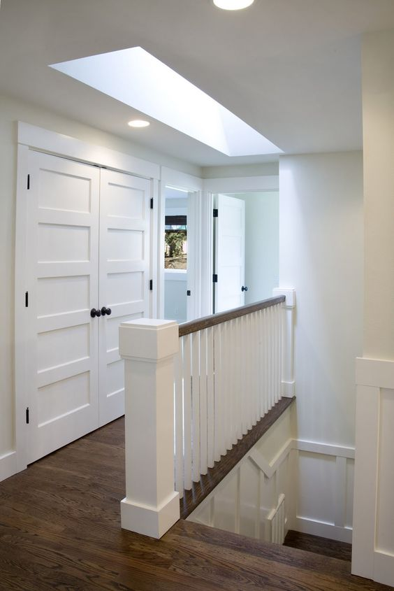 this railing---easy to clean ---Modern Cottage