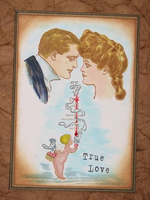 True Love Meter - Third Coast Rubber Stamps