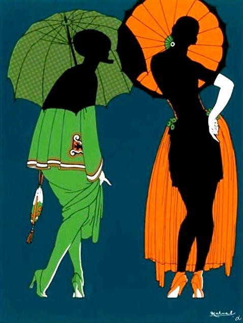 Sol y Luna Cabral 1928. @Deidra Brocké Wallace