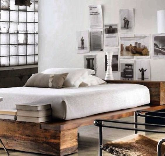 industrial bedroom industrial and beds on pinterest