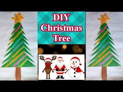 Christmas Craft Youtube Diy Christmas Tree Christmas Tree Crafts Christmas Diy