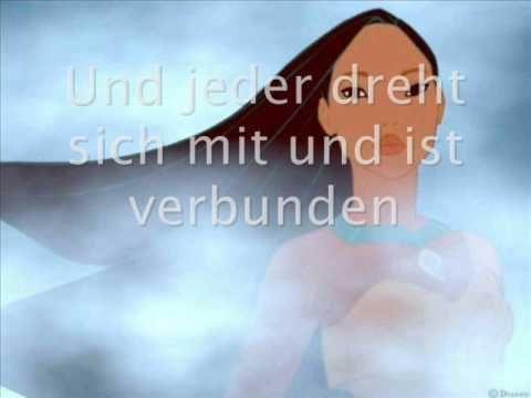 Pocahontas Farbenspiel Des Windes Zum Mitsingen Youtube Pocahontas Farbenspiel Lieder