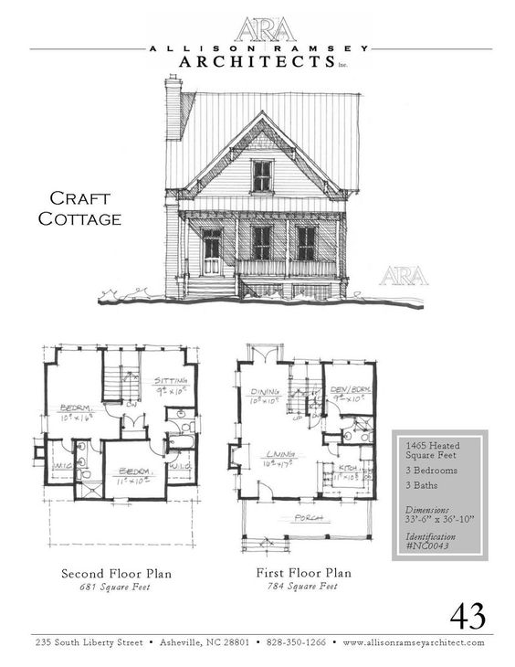 Crafts Cottages And House Plans On Pinterest