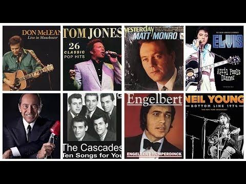 Elvis Presley Tom Jones Matt Monro Engelbert The Cascades Paul