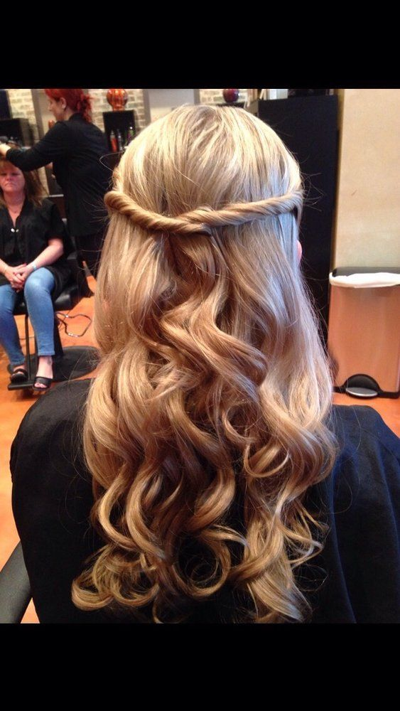 Bangz Hair Salon - Bellmore, NY, United States. My beautiful wedding hair by Jen…