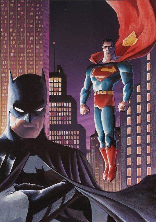 Superman Batman Matt Wagner Batman Dc Comics Superheroes Batman And Superman