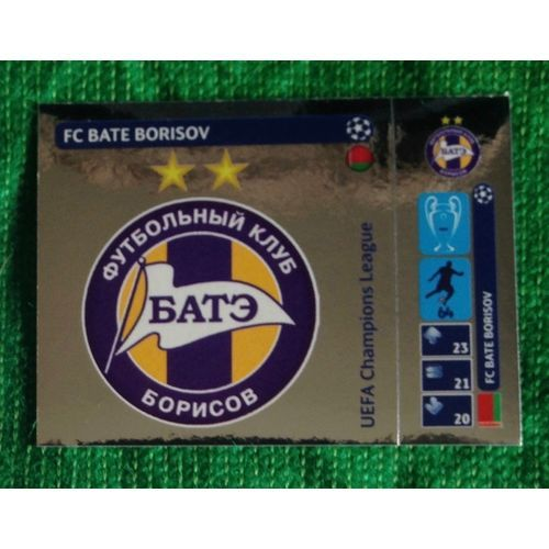 Football Soccer Sticker Panini UEFA Champions League 2014 #36 FC Bate Borisov